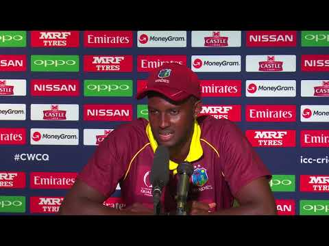 CWCQ : West Indies Caption Jason Holder -Post match press conference 21th March 2018