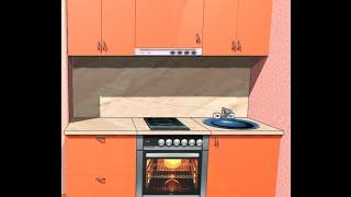 PRO100 проект кухни в Сталинку под заказ в Харькове(Добрый день Друзья. Мы начинаем новую АКЦИЮ.