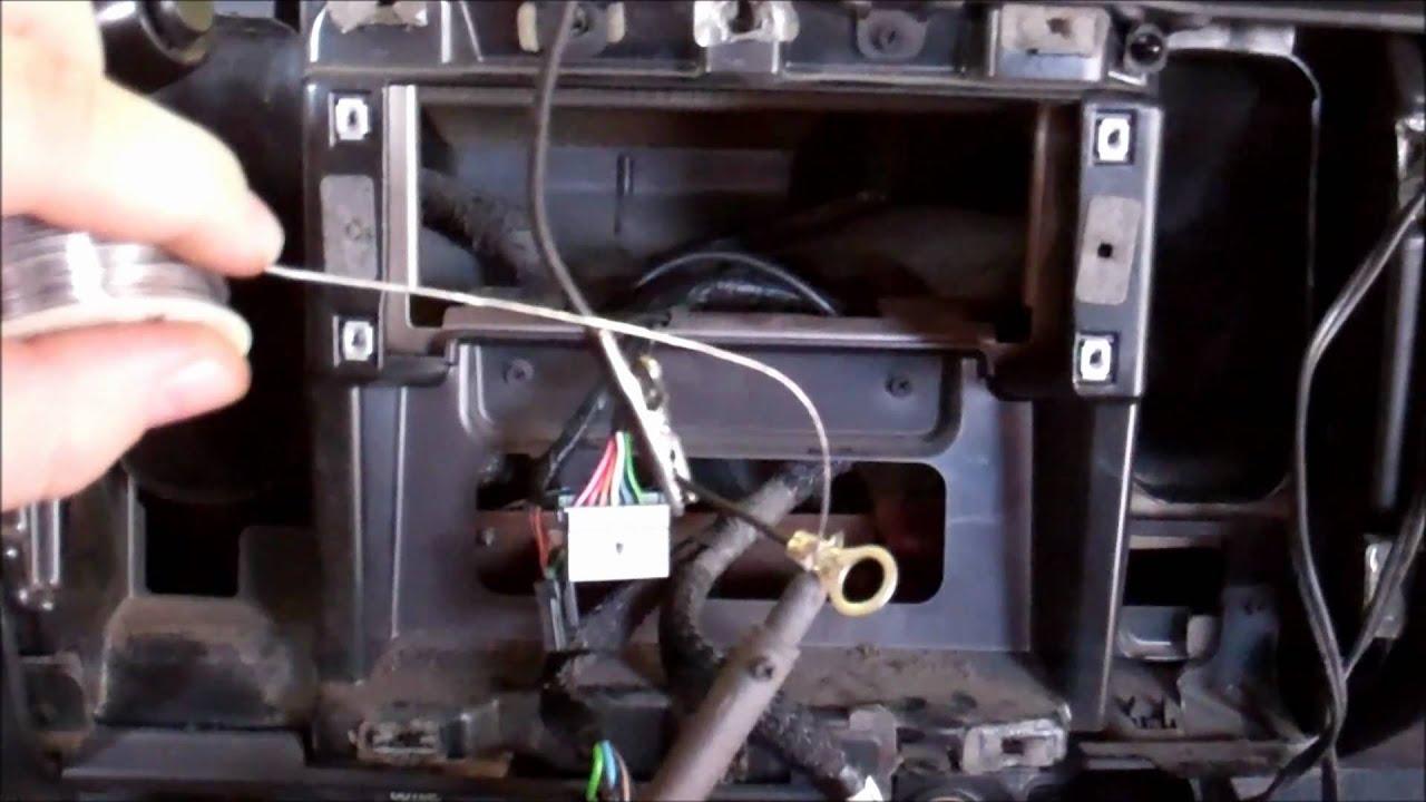 2001 dodge dakota soldering a ground wire [ 1280 x 720 Pixel ]