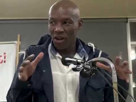 SA NUMSA Treasurer Mphumzi Maqungo Joins ILWU Local 10 On May Day 2014