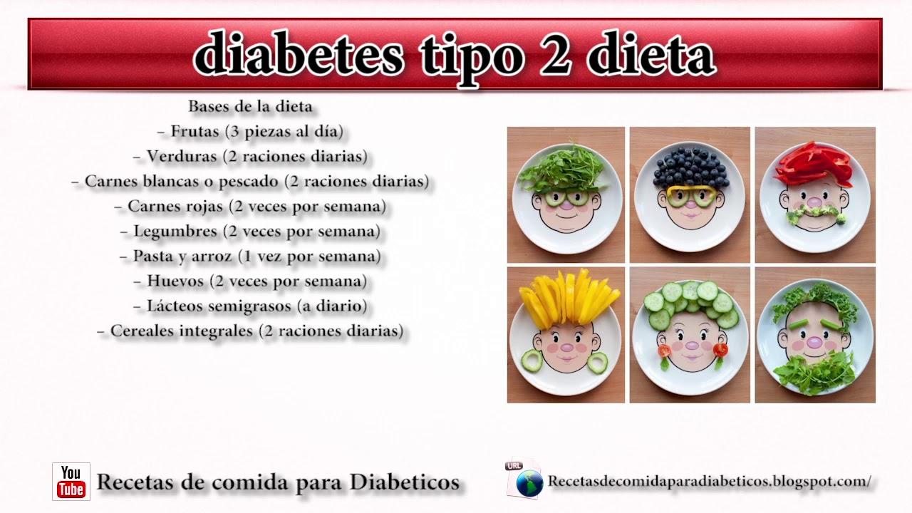 diabetes tipo 2 dieta lista de comida para diabeticos