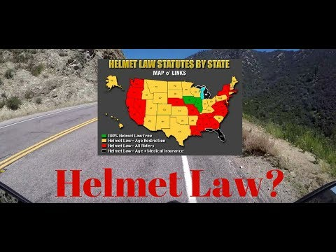 Motorcycle Helmet Law | Yes or No?