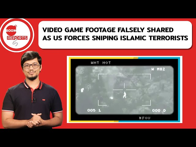 Video Game Footage Falsely Shared As US Forces Sniping Islamic Terrorists