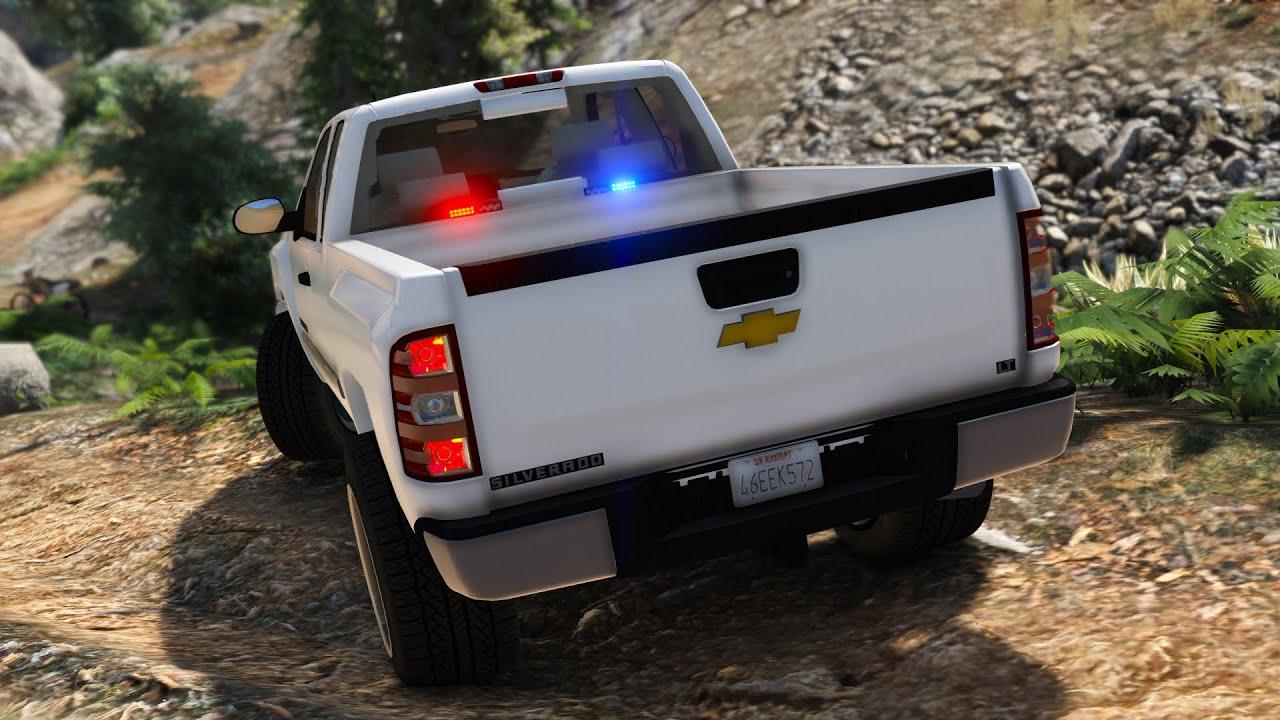 Unmarked Chevy Silverado - GTA 5 Police Car Mod