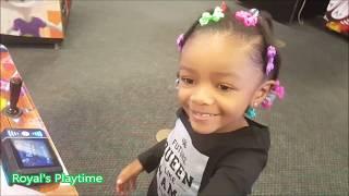 Chuck E Cheese Family Fun Indoor Activity Play Center Arcade- Video For Kids
