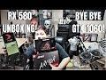 MSI Armor RX 580 OC Unboxing - Bye Bye GTX 1060/ RX 480