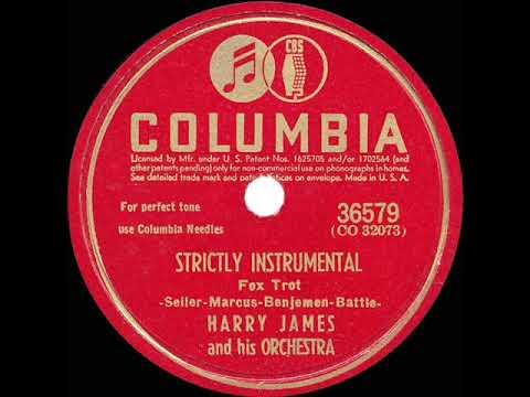 1942 HITS ARCHIVE: Strictly Instrumental - Harry James