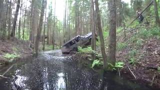 Ищем новые места! Вездеход Argo 8х8, Jeep cherokee, Нивы и Nissan Patrol