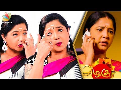 தமிழ் சீரியலை பங்கமாய் கலாய்த்த Aishwarya | Funny Interview | Azhagu Sun TV Serial