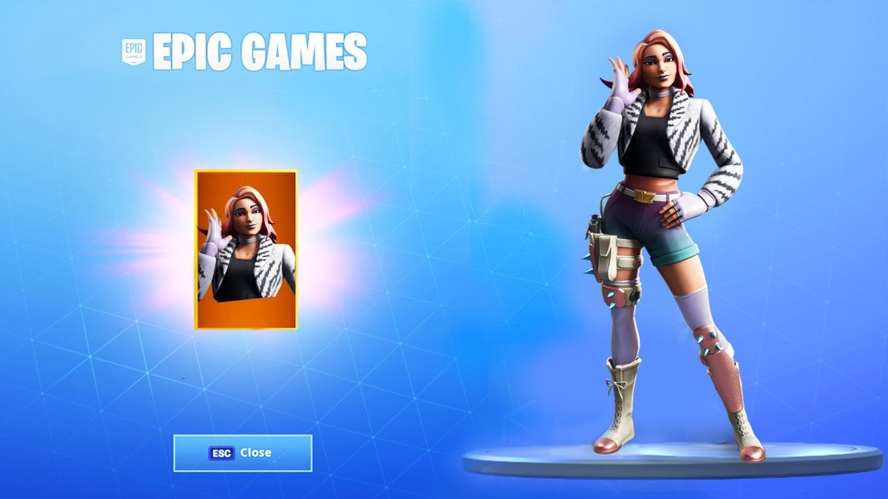 The New Skin Bundle Now In Fortnite