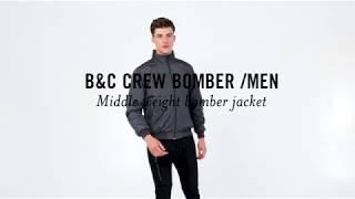 B&C CREW BOMBER /MEN: JM 961