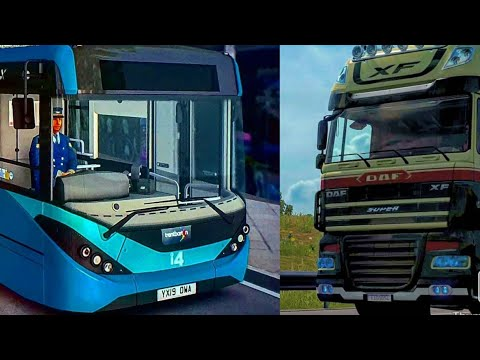 Euro Truck Simulator 2 Driving Around Brazil on 1.38