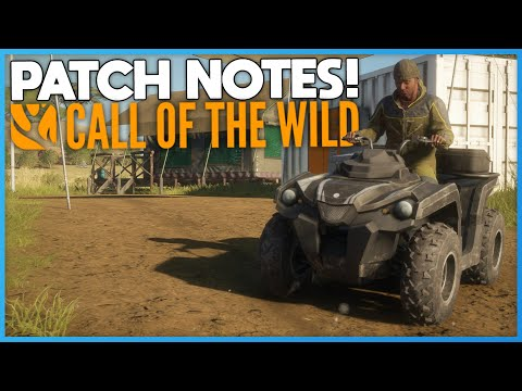 New Patch Notes & Improvements!   theHunter: Call Of The Wild