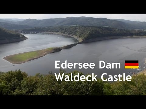 GERMANY: Waldeck Castle & Edersee Dam [HD]