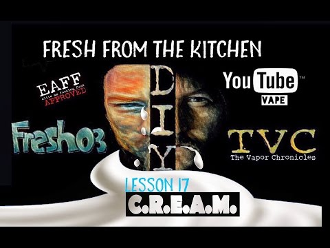 Fresh From The Kitchen Lesson 17 MIX C.R.E.A.M. With Eye Contact