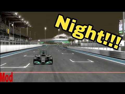F1 2014 Abu Dhabi Night Only || MOD || Link In The Description ||