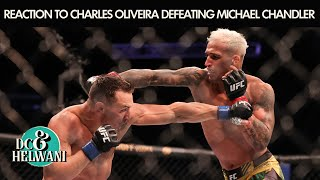 Reacting to Charles Oliveira's TKO win over Michael Chandler at UFC 262 | DC & Helwani