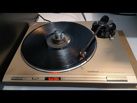Pioneer PL-4 Turntable Refurb Project