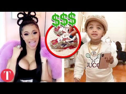 20 Most Expensive Things Bought For Cardi B And Offsets Kid