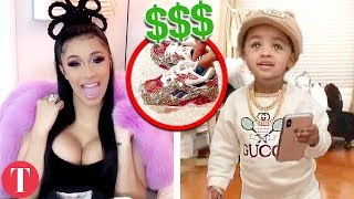 20 Crazy Expensive Things Cardi B And Offsets Bought Their Kid