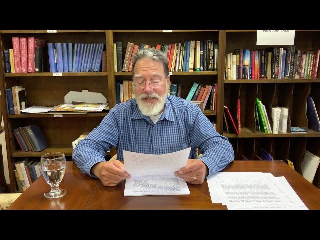 Bible Study With Bill Stahl   12 Joseph Part 1