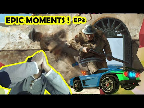 Morocco Gamer EPIC MOMENTS ! ep3 لقطات رائعة BF1,Csgo,rocket league...!