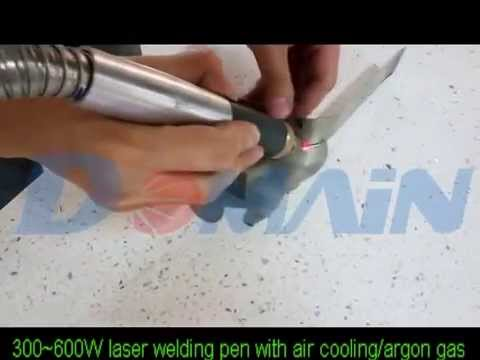 Welding Torch With Air Cooling/Argon Gas by DOMAIN LASER