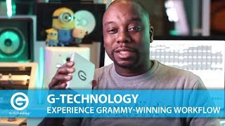 G-Technology | Experience Grammy-winning Workflow