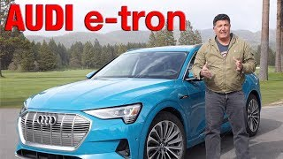 2019 Audi eTron First Drive & Review