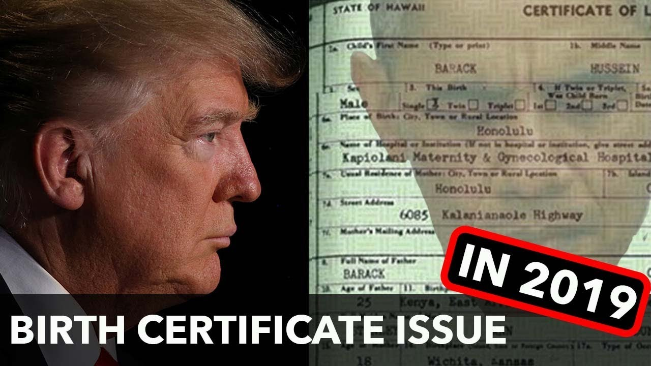 Trump forgets Birth Certificate… said no JUAN ever!  Answer Juan's question at the end of video!