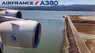 Air-France-Airbus-A380-Paris-CDG-✈️-San-Francisco-SFO-FULL-FLIGHT-REPORT