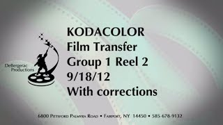 16MM HOME MOVIES - Kodacolor , 1934 Chicago World