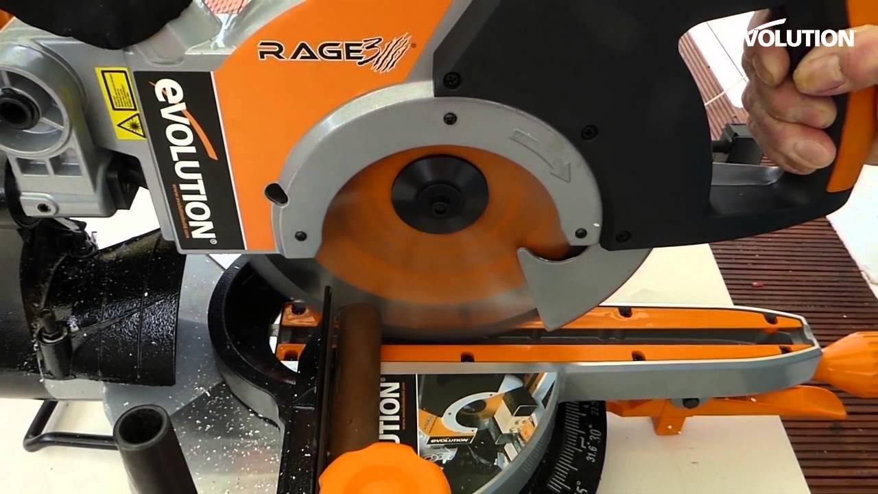 Evolution rage3 mitre saw miter saw dereton33 cuts metal like evolution rage3 mitre saw miter saw dereton33 cuts metal like butter youtube greentooth Gallery