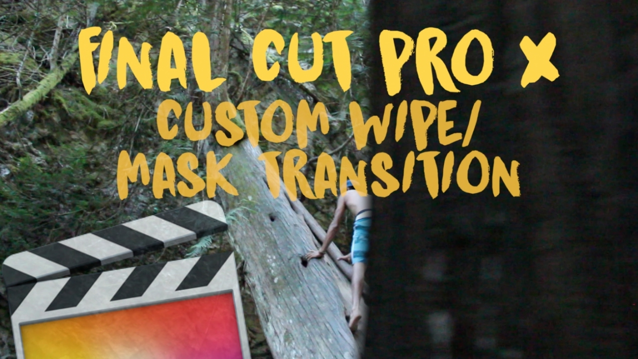 Drawing Lines In Final Cut Pro : Draw mask transition final cut pro youtube