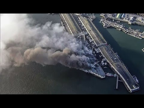 Pier 45 San Francisco: Fire Destroys Warehouses at Fisherman's ...