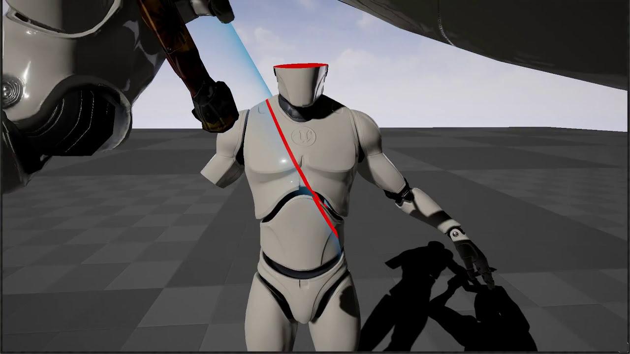 SkeletalMesh slicing Unreal Engine 4