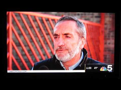 """NBC 5 Chicago report on """"Don't Pave over #10"""" Oct 17 2018"""