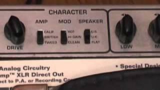 Sansamp Tech 21 Trademark 10 Guitar Amp Demo.mov