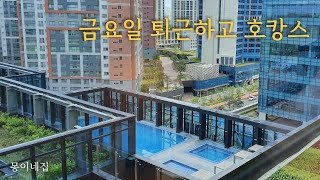 [vlog]신라스테이서부산, 스타필드시티명지, 이마트트…