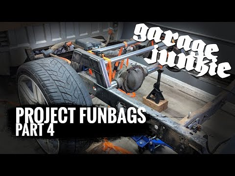 How To Bag A Truck : Installing A Notch and Bridge For a Bagged Truck