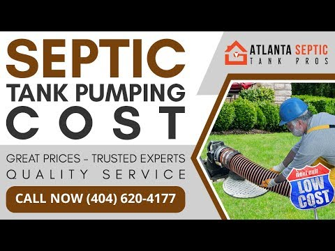 Septic Tank Maintenance Cost in Fairlawn