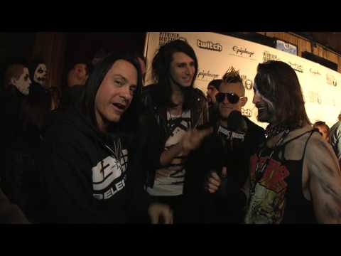 9ELECTRIC Interview, Revolver Music Awards 2016 Black Carpet | MetalSucks