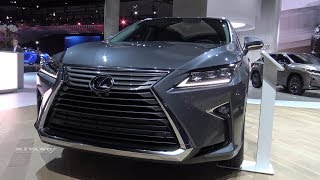 2018 Lexus RX 350L - Exterior And Interior Walkaround - LA Auto Show 2017