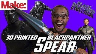 T'Challa's Spear from Black Panther