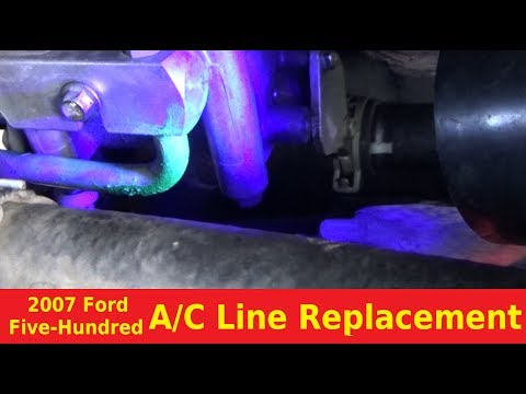 2007 Ford Five Hundred AC Line Replacement - Automotive Education