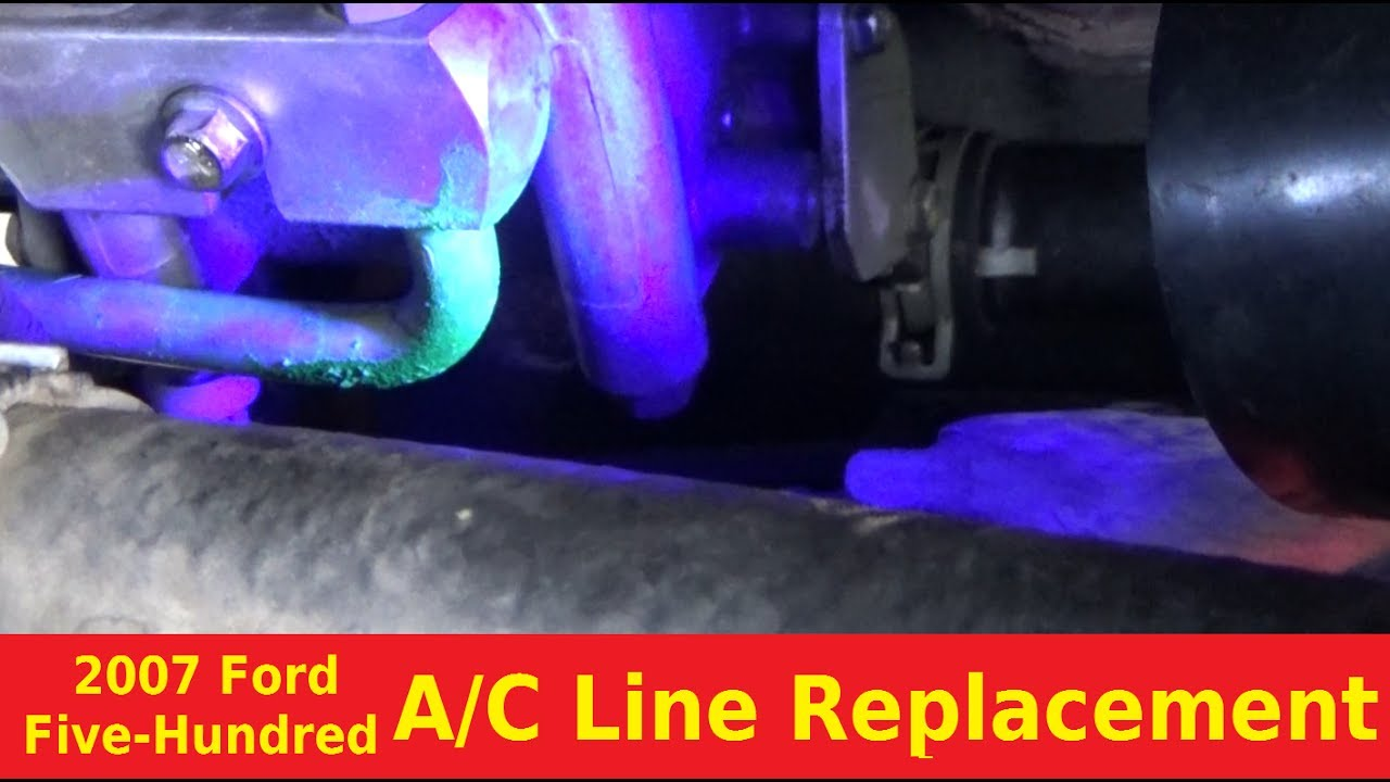 medium resolution of 2007 ford five hundred ac line replacement automotive education