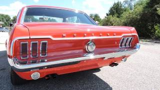 1967 ford mustang red coupe for sale at www coyoteclassics com