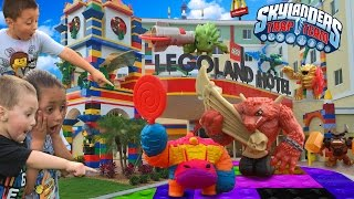 SKYLANDERS @ LEGOLAND HOTEL, Florida Grand Opening! Trap Team McDonalds Happy Meal Toys