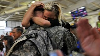 Repeat youtube video Soldiers Coming Home Surprise Compilation 8