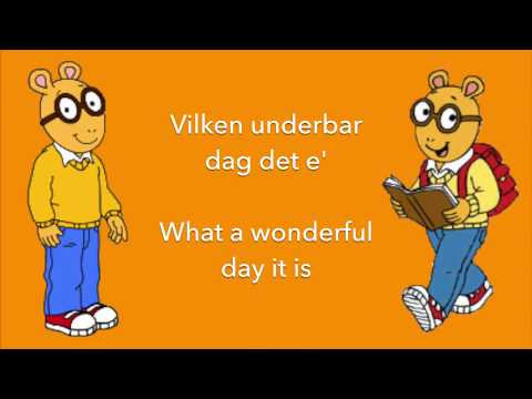 Arthur - Theme Song {Swedish + Translation}
